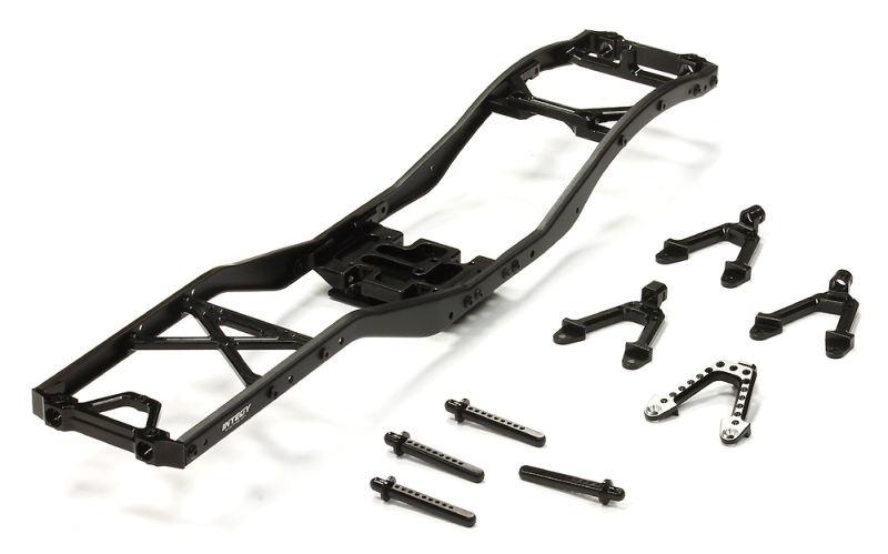 V2 Alu-Leiterrahmen-Chassis-Kit SCX-10 Dingo, Honcho & Jeep