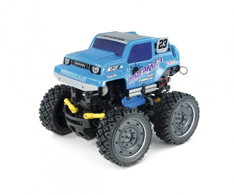 MudMad Monster Truck 1:24 SW-01 mit Wheelie-Funktion Bausatz