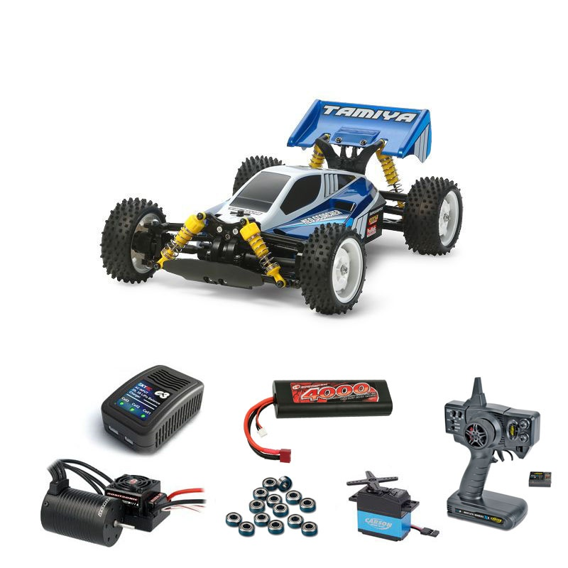 Neo Scorcher TT-02B 4WD Buggy Brushless-Edition Komplettset