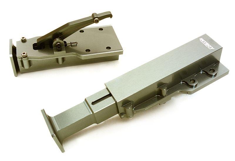 CNC Aluminium Stützen für 1:14 Tamiya Auflieger, gun
