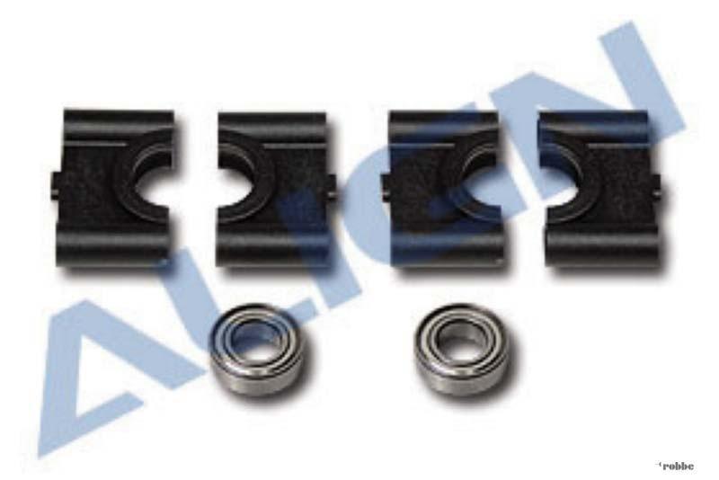 align lagerbock set mit kugellagern t rex 500 h50050 ebay. Black Bedroom Furniture Sets. Home Design Ideas