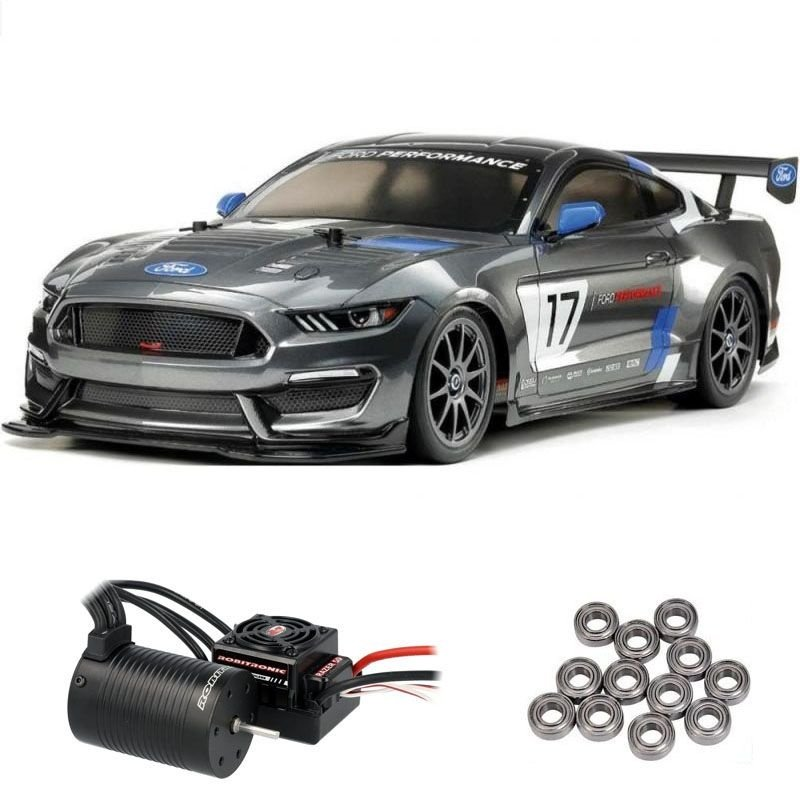 Ford Mustang GT4 4WD Onroad TT-02 1/10 Brushless Edition