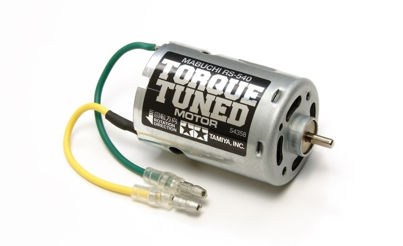 RS-540 Torque-Tuned Elektromotor lose, Welle 3,17 25 Turns