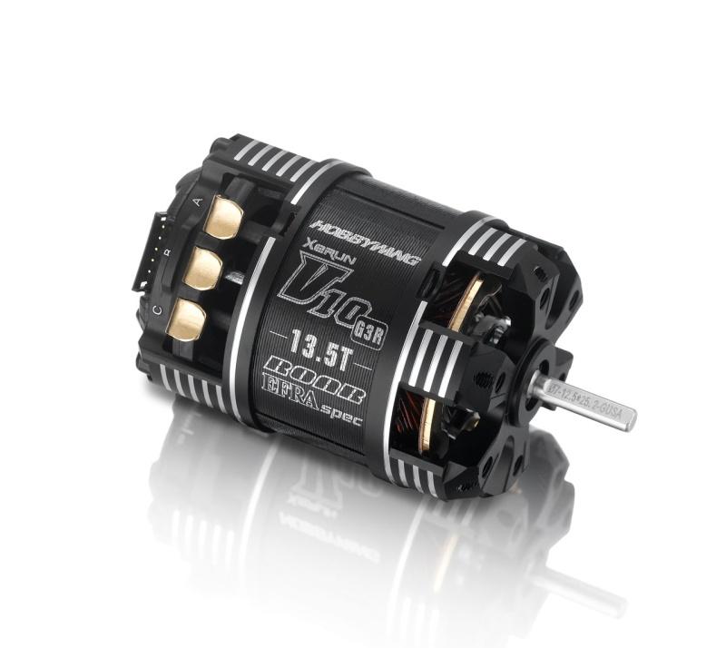 Xerun V10 Brushless Motor G3 3600kV (2-3s) 13.5T Sensored