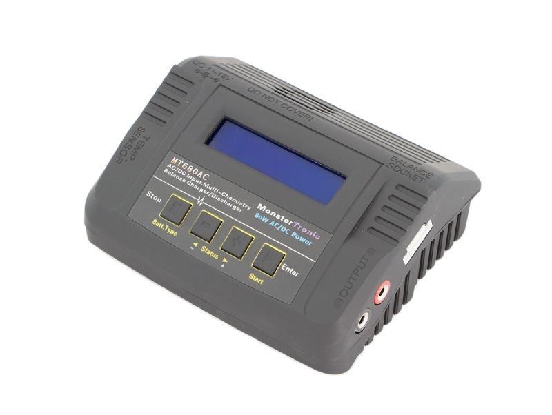 MT680 Ladegerät 80 Watt Lipo NiMh Balancer PB 12/220V