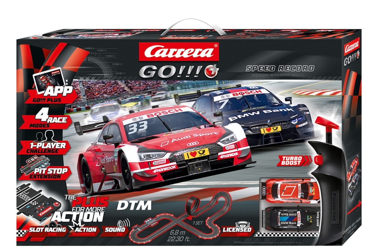 DTM Speed Record Carrera GO Startpackung