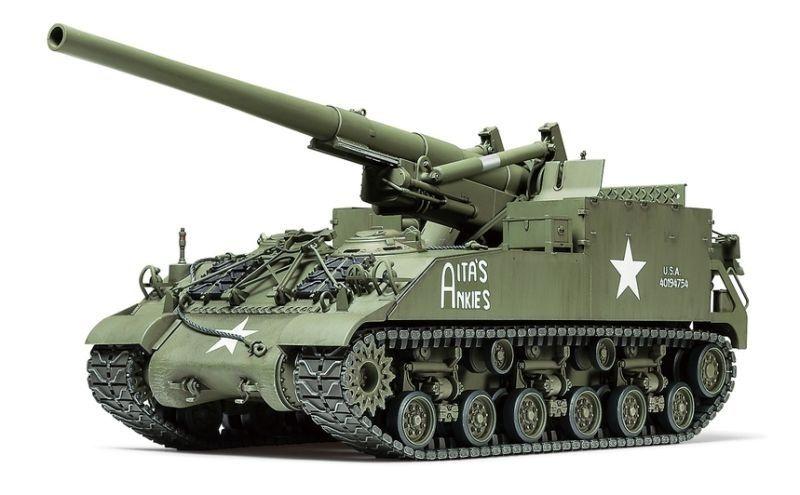 US M40 155mm Haubitze Panzer 1:35 Plastik Bausatz