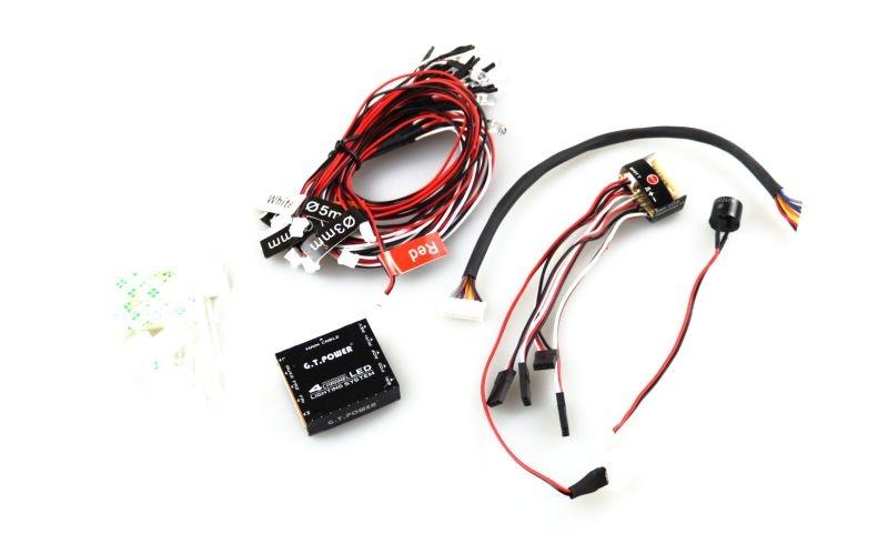 4-Kanal LED Licht System 5V für Trucks