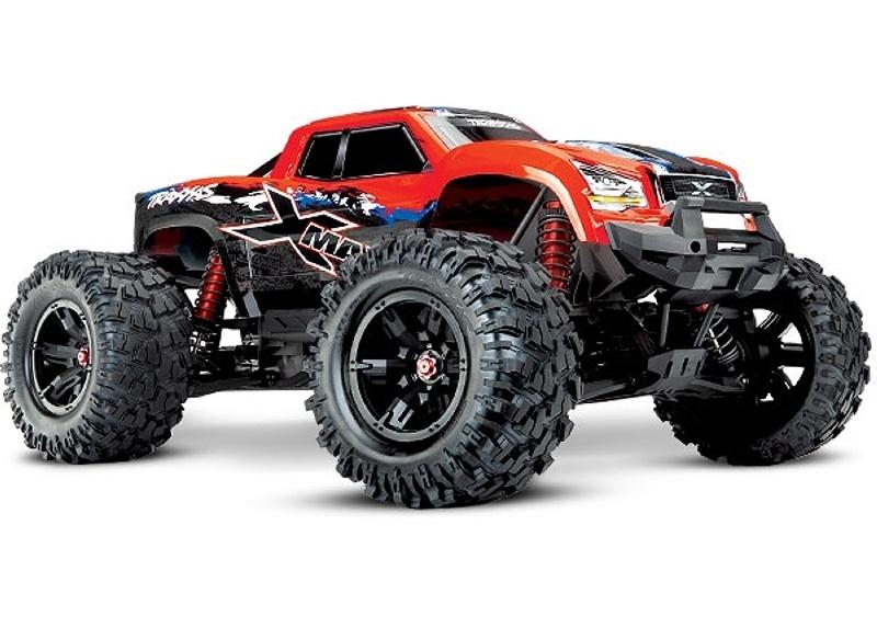 X-MAXX 4WD Brushless Monstertruck VXL-8S TSM RTR - RedX
