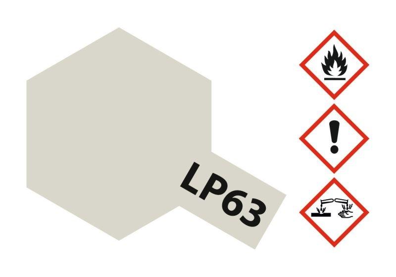 LP-63 Titanium Silber glänzend Kunstharzfarbe 10ml