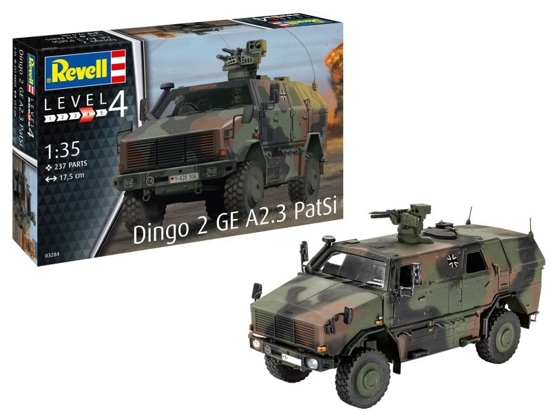 Dingo 2 GE A2.3 PatSi Bausatz 1:35