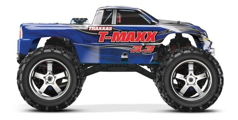 T-Maxx blau RTR 3.3R Verbrenner 4WD Monstertruck