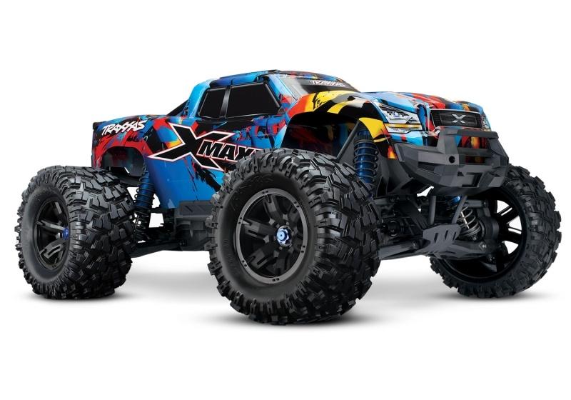 X-MAXX 4WD BL Monstertruck VXL-8S TSM RTR, Rock n` Roll