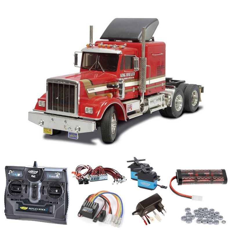Truck King Hauler Komplettset + LED, Kugellager