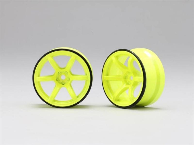 Performer High Traction Type Drift Felge 6mm Offset, gelb