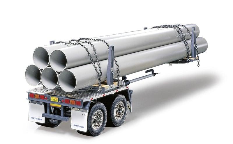Rungen-Teleskop-Auflieger Bausatz für 1/14 Truck