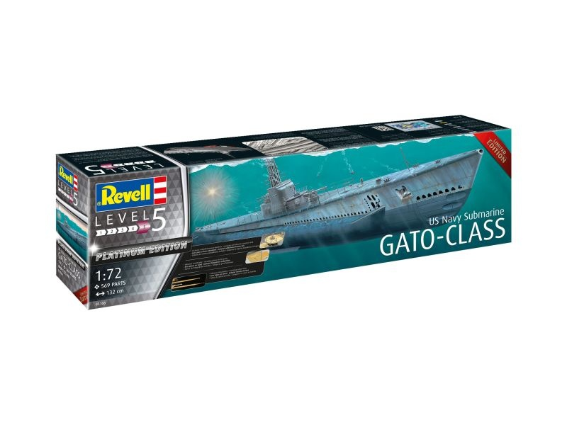 US Navy Submarine GATO-CLASS Bausatz 1:72