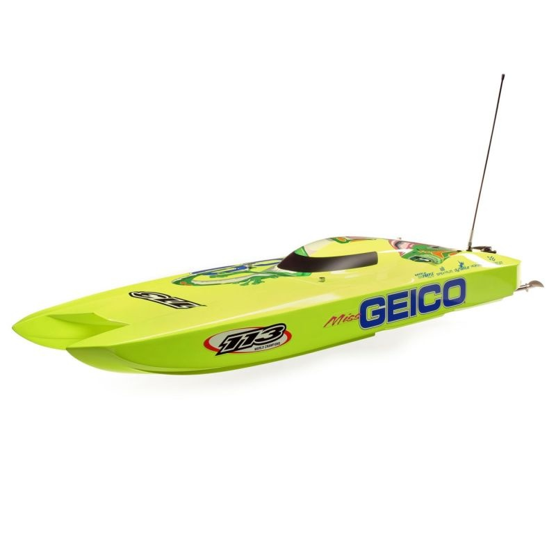 Miss GEICO Zelos 36 Twin Brushless Catamaran RTR