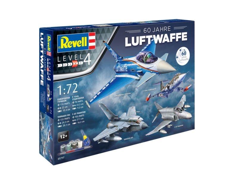 Geschenkset 60 Jahre Luftwaffe 1:72