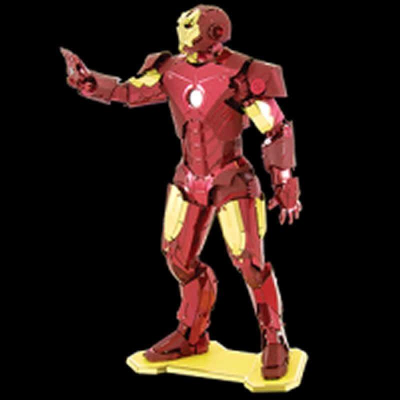 MARVEL Iron Man Metalearth Bausatz