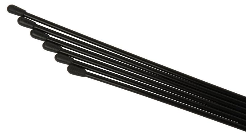Antennenrohr 6 Stück (Schwarz)