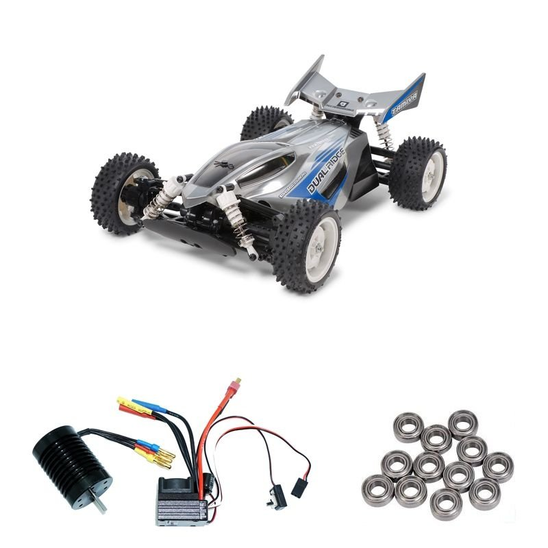 Dual Ridge 1:10 4WD Buggy TT-02B Brushless-Edition + Lager