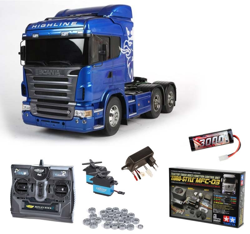 Scania R620 6x4 Highline Blue Edition Komplett,MFC-03, Lager