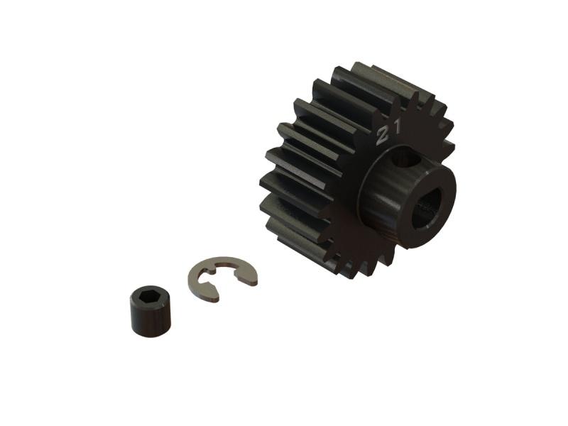 Stahl Motorritzel 21T, Modul 1 (5mm Welle) für Kraton 8S