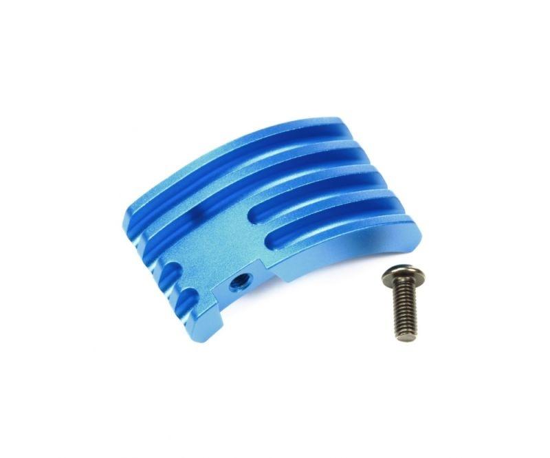 Aluminium Motor Kühlkörper blau eloxiert für M-07 Concept
