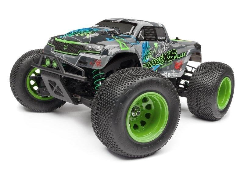 GT-2XS Karosserie lackiert (VAUGHN GITTIN JR) Savage XS FLUX
