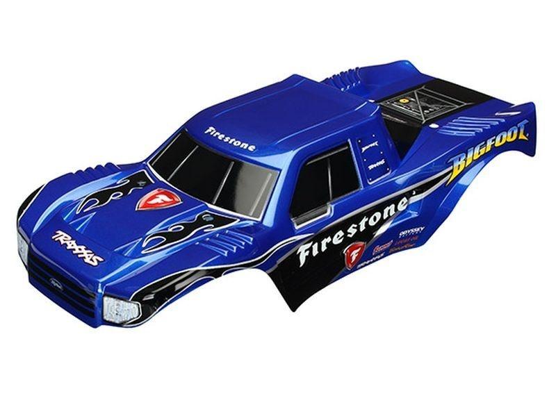 BIGFOOT Firestone Karosserie lackiert + Aufkleber