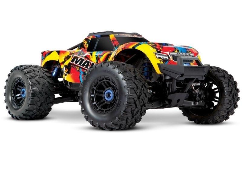 Maxx 4S 1:10 4WD Monster Truck BLS TQi 90+ km/h Solar Flare