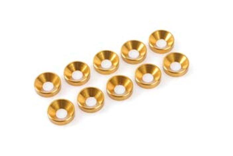 Unterlegscheibe M3 Gold für