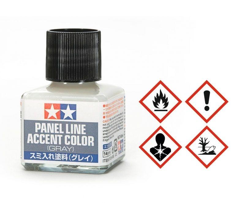 Panel Accent Color Konturfarbe Grau 40ml