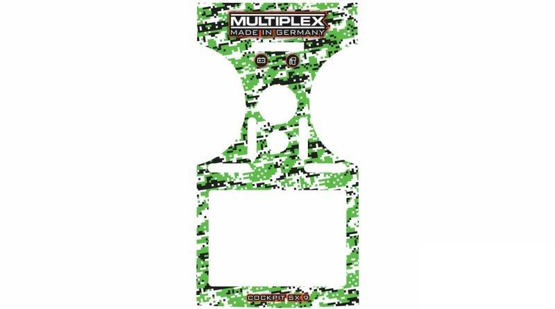Dekorbogen grün für Cockpit SX9
