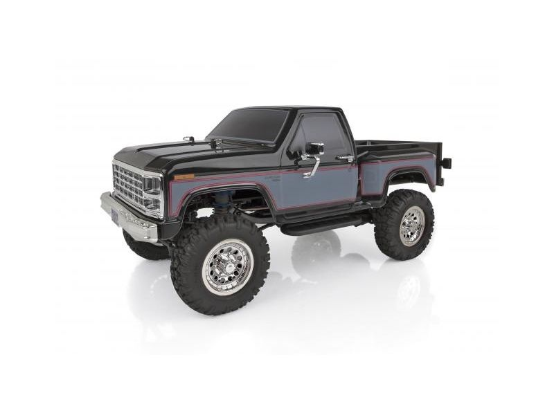 CR12 Ford F-150 1/12 4WD Scale Pick-Up RTR, schwarz