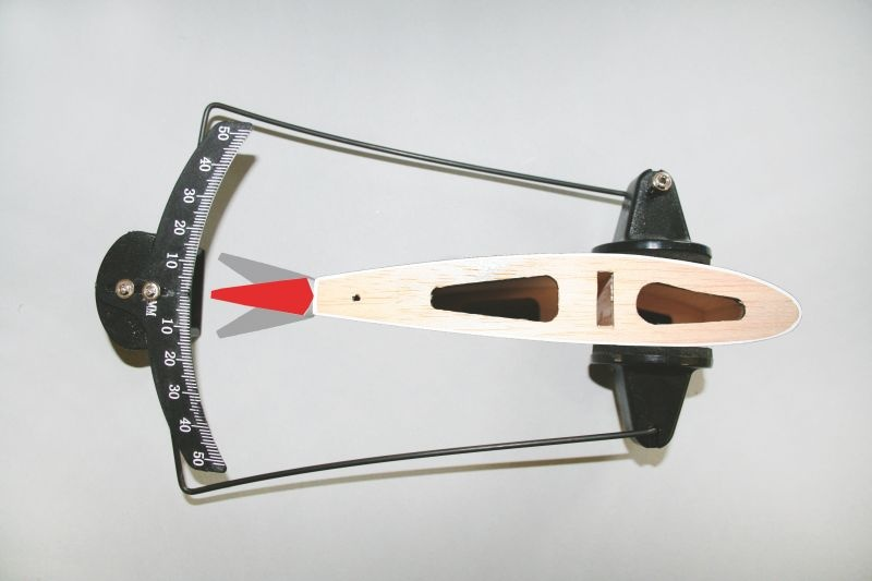 AKKU TROW III Ruderausschlag-Messgerät