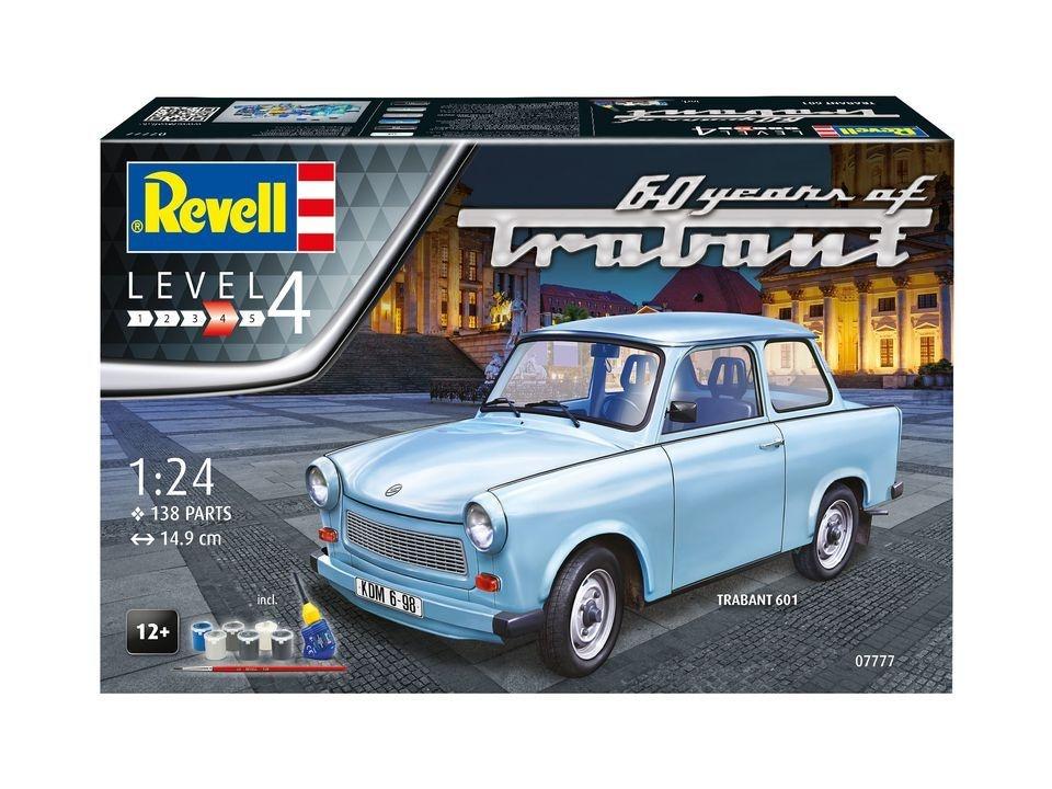 Geschenkset Trabant 601S 60 Years of Trabant 1:24