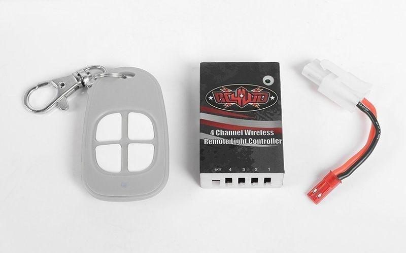 4-Kanal Wireless Remote Light Controller