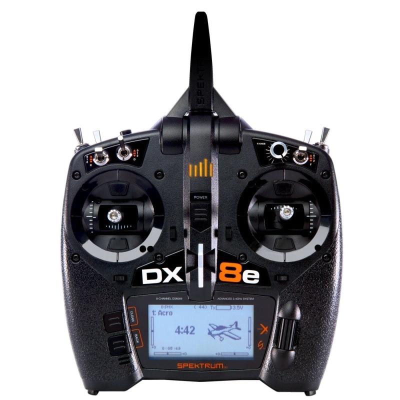 DX8e 8-Kanal Fernsteuerung 2,4GHz Einzelsender