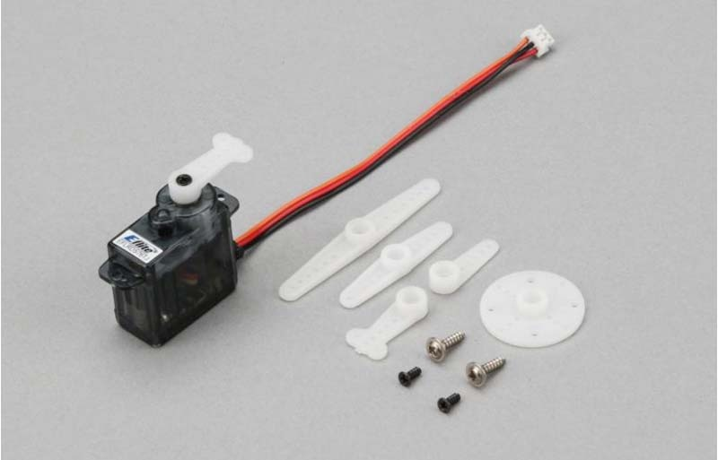 E-flite 7,6 g Sub Micro-Digitalheckservo m. JST-Anschluss
