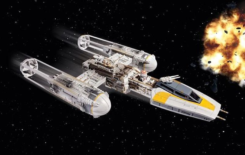 Star Wars Y-Wing Fighter 1:72
