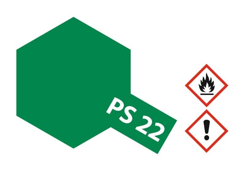 PS-22 Brit. Racing Grün Polycarbonat 100ml