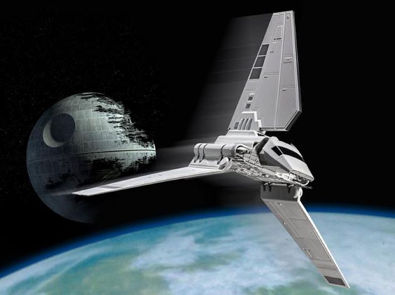 Star Wars Imperial Shuttle Tydirium 1:106