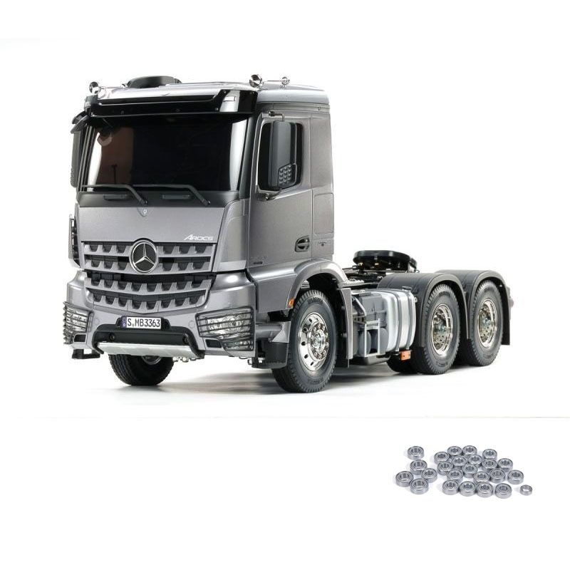 MB Arocs 3363 6x4 Truck Light Gun Metall Bausatz, Kugellager