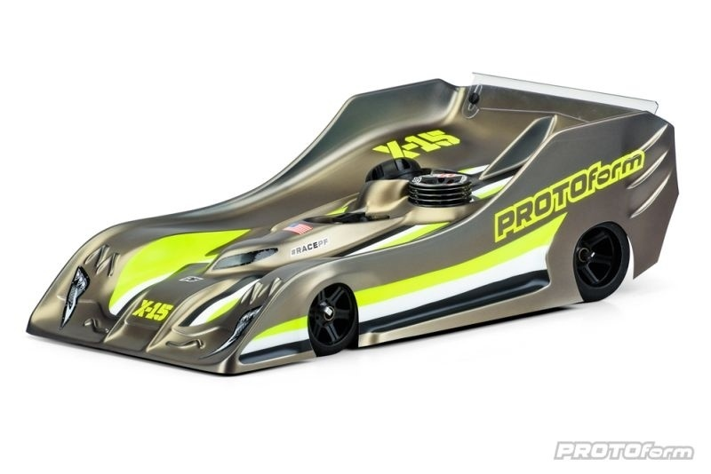 PROTOform X15 Karosserie klar 1/8 On-Road Lightweigt