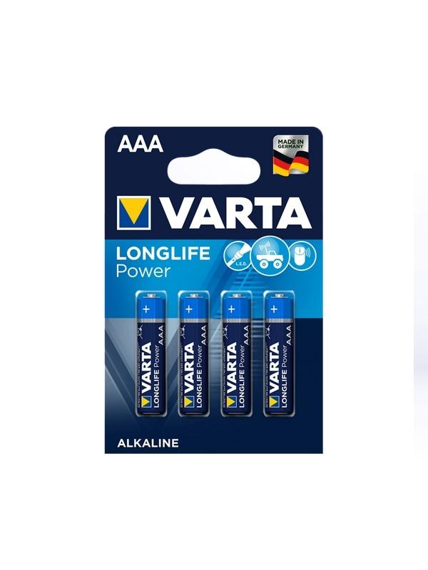 Varta AAA Micro Longlife Power (4 Stück)