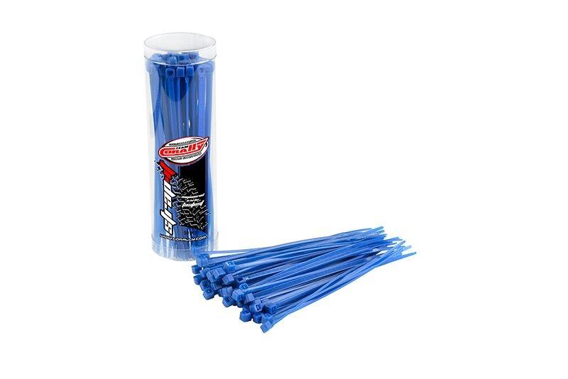 Kabelbinder 2,5x100mm - Blau (50)