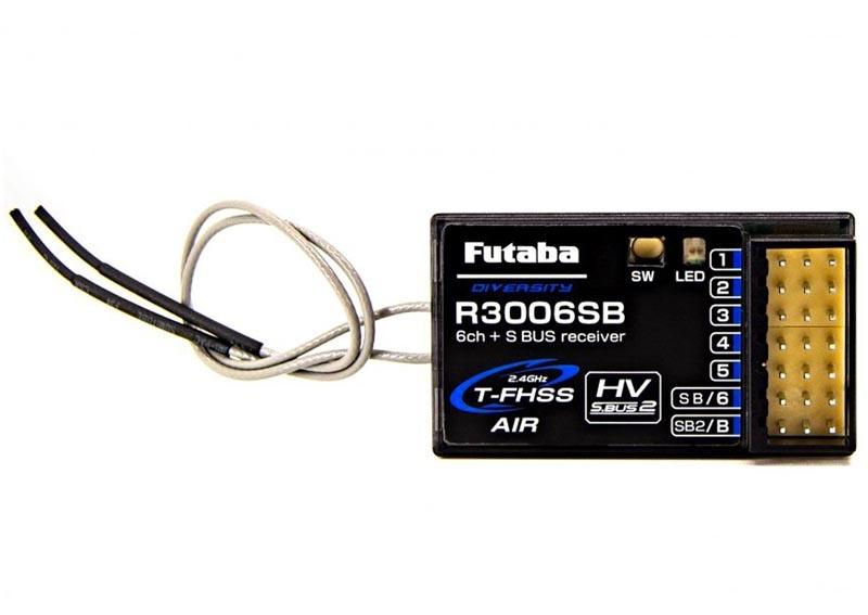 R3006SB 6/18-Kanal Empfänger 2,4GHz T-FHSS Telemetrie S.BUS2