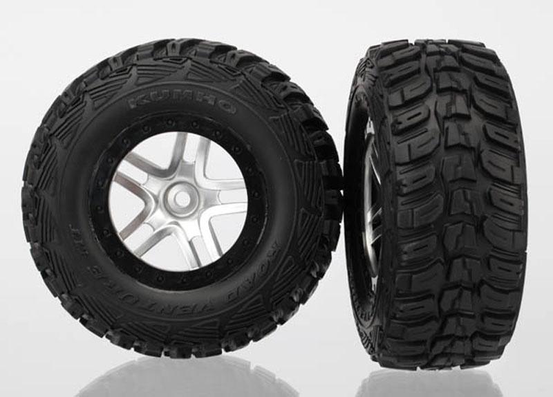 Reifen auf Felge KUMHO Slash 4x4 schw/satin
